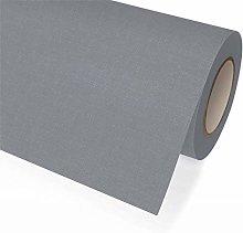 Fabric tablecloth roll, Grey, 1.18 x 25 m