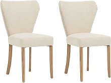 Fabric Upholstered Dining Chair Rosalind Wheeler