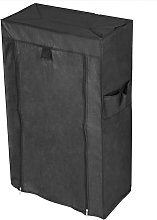 Fabric wardrobe for clothes and shoes storage and