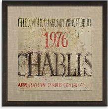 Fabrice De Villeneuve - 'Chablis' Textured