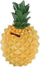 FABSELLER Money Bank Pineapple Shaped Coin Bank