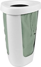 Fabu Laundry Bin Rotho Colour: White/Green