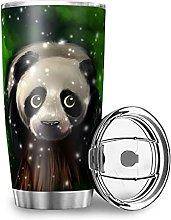Facbalaign Lighting Panda in Green Cup