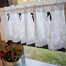 FACC Tier Curtain Kitchen Curtains for Windows