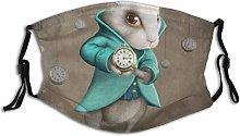 Face Guard Mouth Guard White Elegance Rabbit