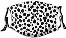 Face Mask Pattern Animal Dalmatian Abstract Spot