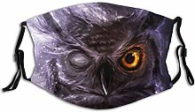 Face Scarf Animal Owl Balaclava Unisex Reusable