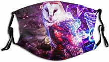 Face Scarf Animal Owls Balaclava Unisex Reusable