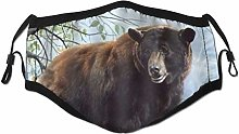 Face Scarf Wildlife Animal Theme Bear Balaclava