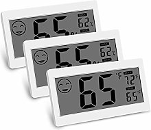 Facibom Digital Thermometer Indoor Hygrometer Room
