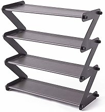 Facibom Simple Steel Assembled Shoe Rack Save