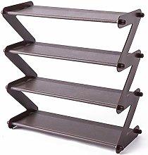 Facibom Simple Steel Assembled Shoe Rack Save