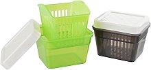 Fackelmann 45483Colander, Plastic Box,
