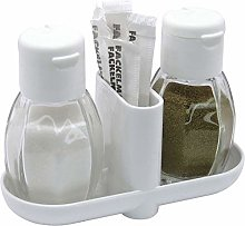 FACKELMANN 47310 Pepper and Salt Shaker, Glass