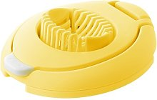 Fackelmann Plastic/Stainless Steel Duo Egg Slicer,