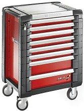 Facom JET.8M3 Roller Cabinet 8 Drawer Red