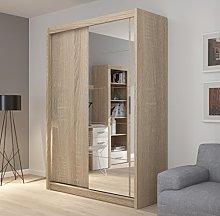 Fado 150 light oak sliding door wardrobe