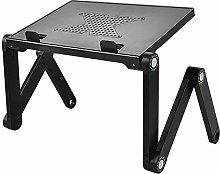 FAGavin Adjustable Black Lap Desk Foldable Lift