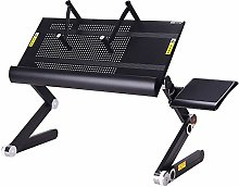 FAGavin Adjustable Lap Desk Laptop Bed Tray Desk