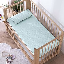 fahua Solid Color Baby Bed Mattress Cover Silky
