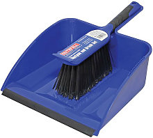 FAIBRDUSTLRG Large Plastic Dustpan&BrushSet -
