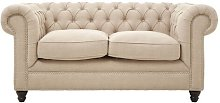 Fairborn 2 Seater Chesterfield Sofa ClassicLiving