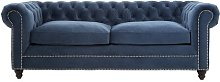 Fairborn 3 Seater Chesterfield Sofa ClassicLiving