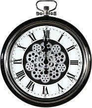 Fairman Wall Clock Williston Forge Colour: