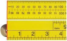 FAIRULEFOLD Folding Rule Yellow ABS Plastic 1
