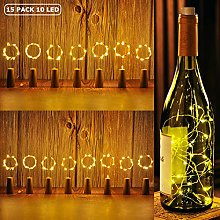 Fairy Cork Lights for Bottle 15 Pack Copper Wire