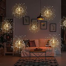 Fairy Firework String Lights with 4 Hanging