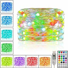 Fairy Lights, 100 Led Multi Color Changing String