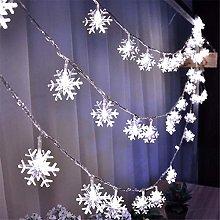 Fairy Lights LED Snowflakes Shape String Lights 20