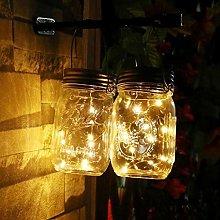 Fairy Lights LED Solar For Mason Jar Lid Insert