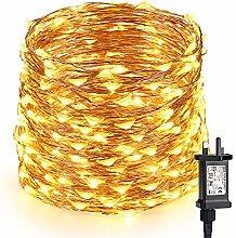 Fairy Lights Mains Powered, BrizLabs 200 LED