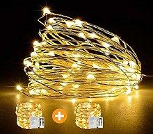 Fairy String Lights 2 Set 33ft 100 Led Fairy