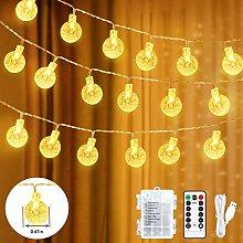 Fairy String Lights,59Ft 100 LED Globe String