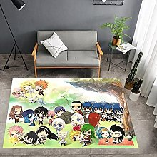 FAIRY TAIL Funny Anti Slip Area Rug, Anime Mat