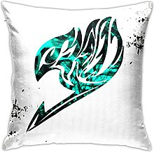 Fairy Tail Square Pillowcase Soft Plush Living