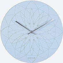Fairytale Wall Clock Polyresin Sky Blue