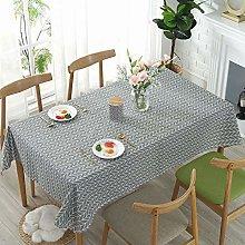 FairytaleMM Cotton Linen Ins Table Cloth Topper