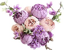 Fake Flowers for Decoration Peony Home Decoration