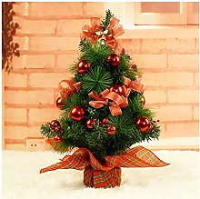 Fake Plants Artificial Mini Christmas Tree Include