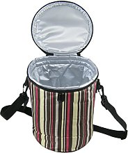FakeFace Ultra Thick Round Insulated Cooler Bag