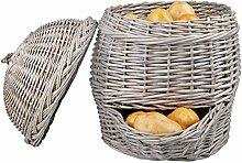 FAL Willow Potato Basket Spud Storage Holder