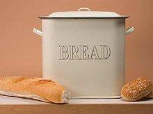 Falcon 34cm Cream Enamel Bread Bin