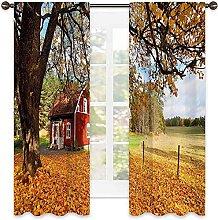 Fall Heat insulation curtain ,Quaint Traditional