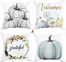 Fall Pumpkin Pillow Covers Merry Christmas Throw