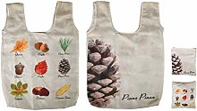 Fallen Fruits Ltd TP294 Shopping Bag, Polyester,