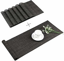 Famibay Placemats and Table Runner Heat Resistant